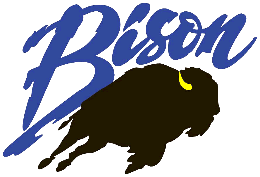 Great Falls High School Bison Logo